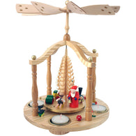 Santa with Children and Toys, Richard Glaesser Christmas Pyramids - SavvyNiche.com