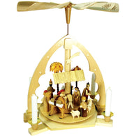 Unique Nativity Scene, Richard Glaesser Christmas Pyramids - SavvyNiche.com