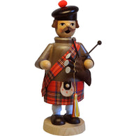 Scottish Bagpiper, Richard Glaesser Christmas Smokers - SavvyNiche.com