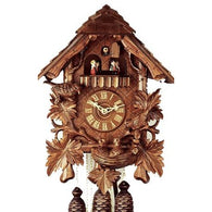 Musical Cuckoo Clocks<br>Feeding Birds