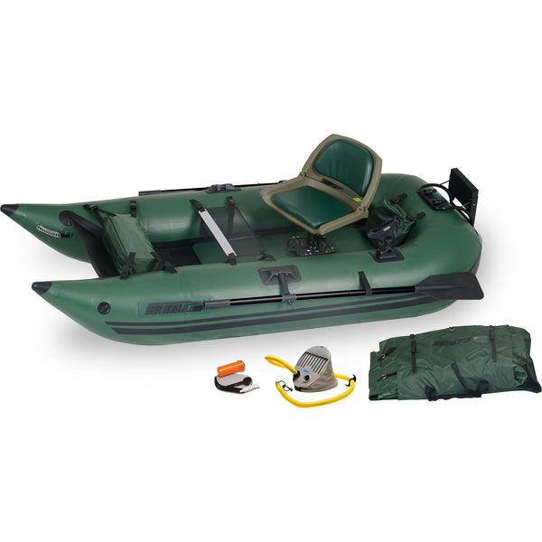 Sea Eagle 285 Inflatable Pontoon Boat Pro Fishing Package, Inflatable Kayak - SavvyNiche.com