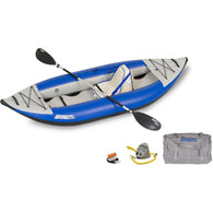 Sea Eagle Explorer Kayak 300XK Deluxe, Inflatable Kayak - SavvyNiche.com