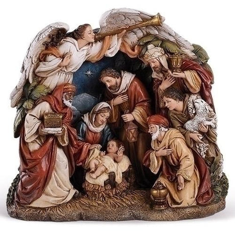 Arching Angel, Christmas Nativity Figurine Scene Sets - SavvyNiche.com