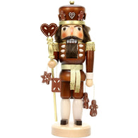 Gingerbread King, Ulbricht Large Size Nutcrackers - SavvyNiche.com