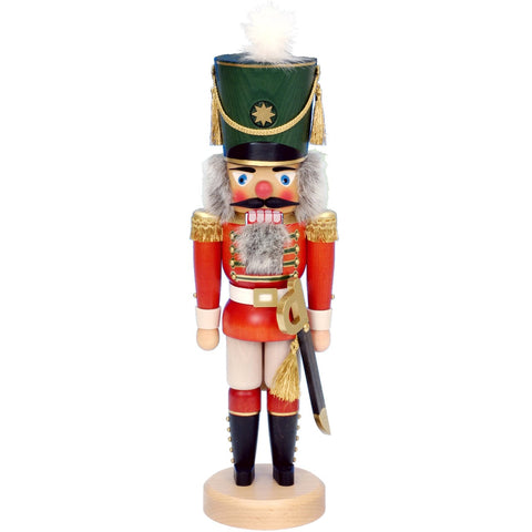 Red Soldier, Ulbricht Large Size Nutcrackers - SavvyNiche.com