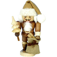Santa with Tree and sack, Ulbricht Mini Nutcrackers - SavvyNiche.com