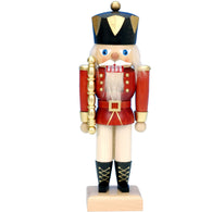 Red King, Ulbricht Medium Size Nutcrackers - SavvyNiche.com