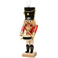 Red Drummer, Ulbricht Medium Size Nutcrackers - SavvyNiche.com