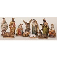 11 Piece Nativity Figurine Set, Christmas Nativity Figurine Scene Sets - SavvyNiche.com