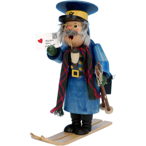 Mailman on Skis, Ulbricht German Christmas Smokers - SavvyNiche.com