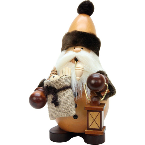 Santa with toy sack and lantern, Ulbricht German Christmas Smokers - SavvyNiche.com