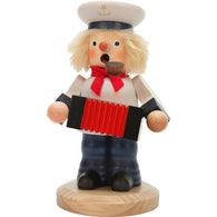 German Smokers Sailor playing accordion - SavvyNiche.com