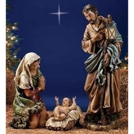 3 Piece Holy Family Nativity Set, Christmas Nativity Figurine Scene Sets - SavvyNiche.com