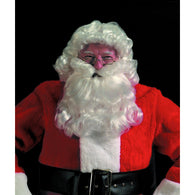 Deluxe Santa Curly Wig & Beard Set, Santa Claus Wig and Beard Sets - SavvyNiche.com