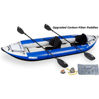 Sea Eagle Explorer 380XK Inflatable Kayak Whitewater Pro Carbon Package, Inflatable Kayak - SavvyNiche.com