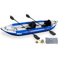 Sea Eagle 380X Inflatable Kayak Whitewater Pro Package, Inflatable Kayak - SavvyNiche.com