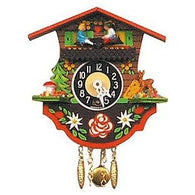 Black Forest<br>Chalet Clock:<br>Boy & Girl