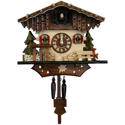 Quartz Cuckoo Clock Black Forest Chalet, Quartz Chalet Cuckoo Clocks - SavvyNiche.com