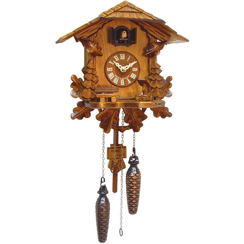Battery Cuckoo Clock Chalet German Cottage, Quartz Chalet Cuckoo Clocks - SavvyNiche.com