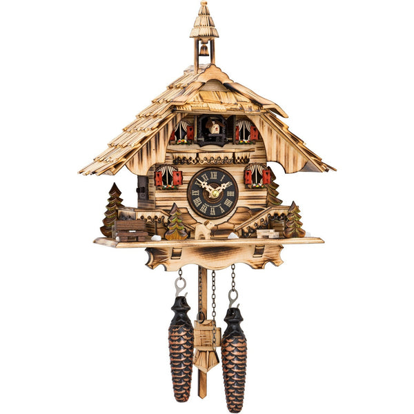 Battery-Operated Quartz Chalet Cuckoo Clock, 2017 Cuckoo Clocks - SavvyNiche.com