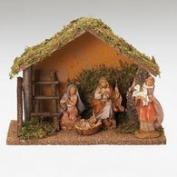 4 Piece Nativity Scene Set, Christmas Nativity Figurine Scene Sets - SavvyNiche.com