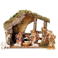 9 Piece Nativity Set, Christmas Nativity Figurine Scene Sets - SavvyNiche.com