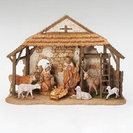 8 Piece Nativity Set, Christmas Nativity Figurine Scene Sets - SavvyNiche.com