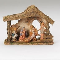 5 Piece Nativity Set, Christmas Nativity Figurine Scene Sets - SavvyNiche.com