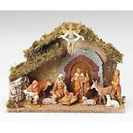 10 Piece Nativity Set, Christmas Nativity Figurine Scene Sets - SavvyNiche.com