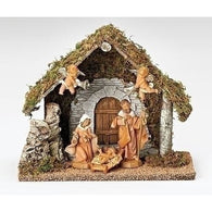 5 Piece Nativity Scene Set, Christmas Nativity Figurine Scene Sets - SavvyNiche.com