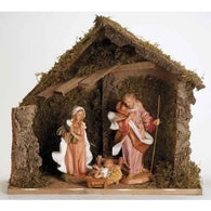 3 Piece Nativity Scene Set, Christmas Nativity Figurine Scene Sets - SavvyNiche.com