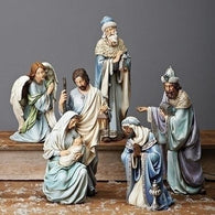 5 Piece Nativity Figurines Set, Christmas Nativity Figurine Scene Sets - SavvyNiche.com