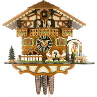 Octoberfest Beer Garden, 8 Day Musical Chalet Cuckoo Clocks - SavvyNiche.com