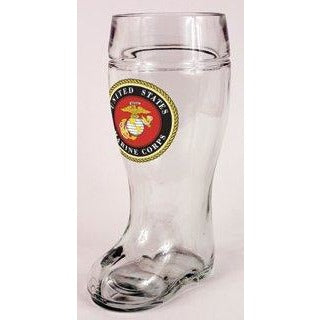 Marine Corps USMC<br>Glass Beer Boot
