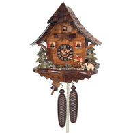 Eight Day Cuckoo Clock Cottage Fisherman, 8 Day Chalet Cuckoo Clocks - SavvyNiche.com