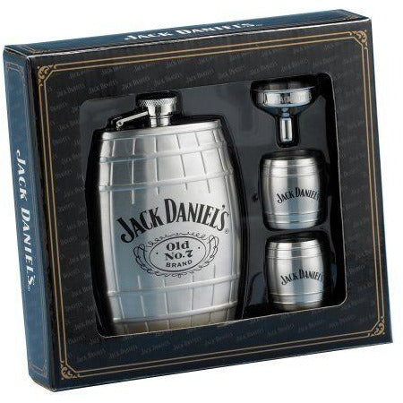 Barrel Flask Gift Set