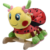 Lula Ladybug Rocker, Rocking Animals - SavvyNiche.com