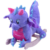 Puff The Periwinkle Dragon, Rocking Animals - SavvyNiche.com