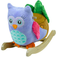 Owlita The Violet Owl, Rocking Animals - SavvyNiche.com