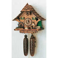 Classic Chalet Germany, 8 Day Chalet Cuckoo Clocks - SavvyNiche.com
