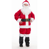 Child's Plush Santa Suit, Santa Costume Suits - SavvyNiche.com