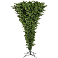 5.5 FT Unlit Upside Down Artificial Christmas Tree