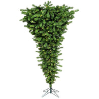 5.5 FT Pre Lit Upside Down Artificial Xmas Tree