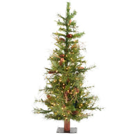 6 FT. Pre lit Artificial Christmas Tree
