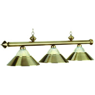 Billiard Pool Table Light Antique Brass