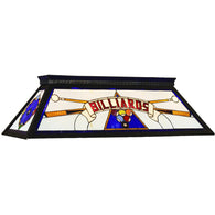Blue Billiard Table light