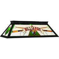 Green Billiard Table Light, Stained Glass Pool Table Light - SavvyNiche.com
