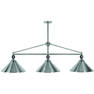 Shade Billiard Lamp Fixtures, Metal Pool Table Lighting - SavvyNiche.com