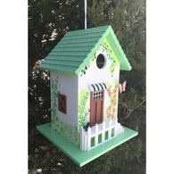 Bird house Butterfly Cottage Green