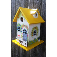 Bird house Flower Cottage Yellow